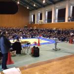 12月6日(金) 長崎県佐世保市立大野中学校 人権講演会